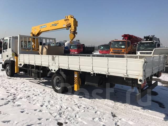 Hyundai HD120. c Soosan 335 (3,5тонн), 5 899 куб. см., 5 000 кг.