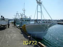 Шхуна рыболовная многофункциональная, транаспортная 17м из Японии. Год: 1988 год, длина 17,00м., двигатель стационарный, 590,00л.с., дизель. Под зак...