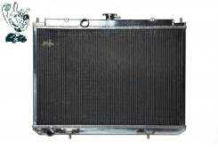 Радиатор охлаждения двигателя. Nissan X-Trail, T30 Двигатели: QR20DE, QR25DE