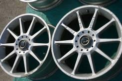 Dunlop. 8.0x17, 4x114.30, 5x114.30, ET45