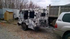 Scania. Прицеп самодельный Турист, 1 500 кг.