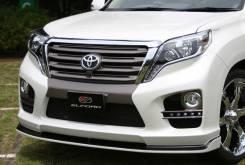 Обвес кузова аэродинамический. Toyota Land Cruiser Prado, TRJ150, TRJ150W. Под заказ