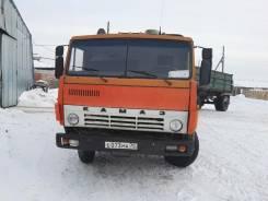 Камаз 55102. с прицепом СЗАП 8527, 10 850 куб. см., 15 630 кг.