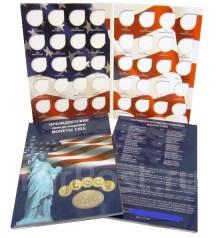 Альбом-планшет для хранения Президентских однодолларовых монет США