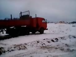 Камаз 5410. с прицепом, 10 000 куб. см., 20 000 кг.