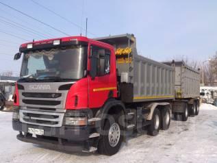 Scania P. Продается самосвал Скания Р420 2012 г. плюс прицеп самосвал 2014 г., 11 700 куб. см., 25 000 кг.