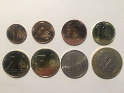 Беларусь Годовой Набор Монет 1 2 5 10 20 и 50 копеек 1 и 2 рубля 2009