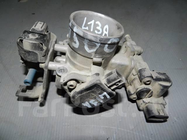 Заслонка дроссельная. Honda Fit, UA-GD1, LA-GD1, LA-GD2, UA-GD2, DBA-GD1, DBA-GD2 Honda City Honda Jazz Двигатели: L13A, L12A2, L12A3, L13A3, L15A2, L...