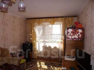 1-комнатная, улица Адмирала Юмашева 24. Баляева, проверенное агентство, 33 кв.м. Интерьер
