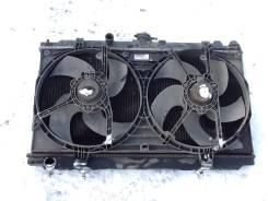 Радиатор охлаждения двигателя. Nissan Almera, N16E, N16 Двигатель QG15DE