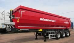 Kassbohrer. Самосвальный полуприцеп DL 32 м3, 30 900 кг.