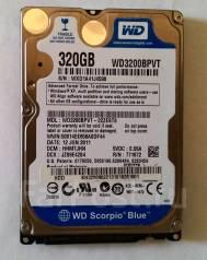 Жесткие диски 2,5 дюйма. 320 Гб, интерфейс SATA