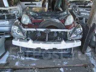 Радиатор охлаждения двигателя. Toyota Caldina, ZZT241, AZT241