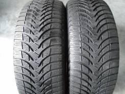 Michelin Alpin A4. Зимние, без шипов, 2010 год, износ: 10%, 2 шт