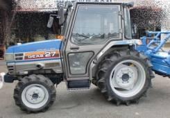 Iseki. Трактор GEAS 27, закрытая кабина, фреза, 4вд, 27л. с. Под заказ