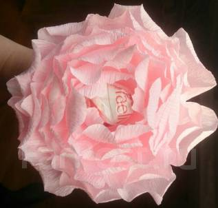 Роза с конфеткой. Под заказ
