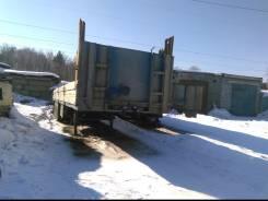 Pacton. Полуприцеп Пактон, борт, 1992г 28 тонн., 28 000 кг.