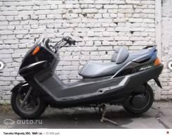 Yamaha Majesty 250. 249 куб. см., исправен, птс, без пробега
