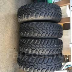 Без износа Dunlop MT2 265/75/16 на ковке Weds -30/8/16. 8.0x16 6x139.70 ET-30