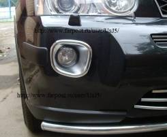 Накладка на бампер. Nissan X-Trail, T31, NT31, DNT31, TNT31