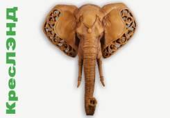 Голова Слона. Размер: 53Х60