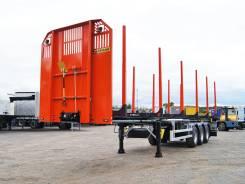 ZASLAW NL.13.KP, 2017. Полуприцеп-лесовоз Zaslaw (новый), 31 340 кг.