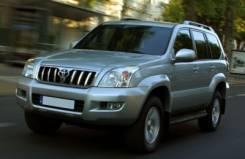 Toyota Land Cruiser Prado. Продам ПТС Land Cruiser Prado 120 2007 серебро