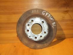Диск тормозной. Mazda Atenza Sport, GY3W, GYEW Mazda Atenza, GGES, GG3S, GG3P, GY3W, GGEP Mazda Capella, GWEW, GWFW, GW8W, GW5R, GWER