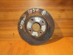 Диск тормозной. Mazda Demio, DY3R, DY5W, DY3W, DY5R Mazda Verisa, DC5W, DC5R