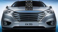 Решетка радиатора. Hyundai ix35 Hyundai Tucson. Под заказ