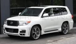 Обвес кузова аэродинамический. Toyota Land Cruiser, VDJ200, URJ202W, UZJ200W, URJ200, URJ202. Под заказ