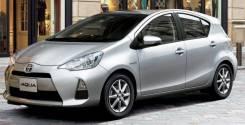 Аренда авто. Toyota AQUA (Prius C), Гибрид, 2012 год, и другие авто!. Без водителя