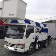 Isuzu Elf. Автовышка Aichi SH-145 (), 4 300 куб. см., 16 м.