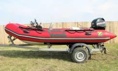 Zodiac. Год: 2012 год, длина 4,20м., двигатель подвесной, 40,00л.с., бензин