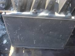 Радиатор охлаждения двигателя. Mitsubishi Pajero Двигатель 6G74