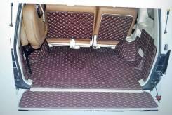 Коврик в багажник 3D. Land Cruiser 200/ 100/Lexus LX570. черный. Новый