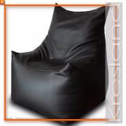 Кресло-мешок Фокс экокожа черный