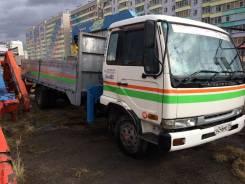 Nissan Diesel. Продается грузовик с краном nissan diesel, 7 000 куб. см., 5 000 кг.