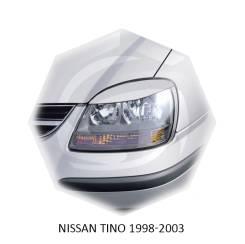 Накладка на фару. Nissan Tino, V10, V10M
