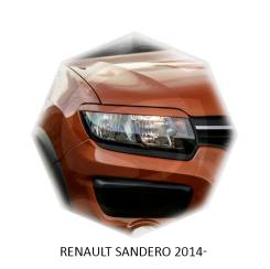 Накладка на фару. Renault Sandero, 5S Двигатели: H4M, K7M, K4M, D4F