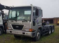 Daewoo Novus. Новый седельный тягач 6х4 во Владивостоке, 10 964 куб. см., 36 000 кг.