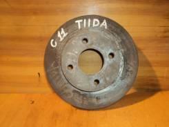 Диск тормозной. Nissan: Tiida Latio, AD, March, Wingroad, Bluebird Sylphy, Tiida, Cube Cubic, Cube Двигатели: HR15DE, MR18DE, HR16DE, CR12DE, MR20DE...