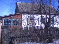Дом в Сибирцево 35,9 кв. м. Пгт. Сибирцево., ул. Островского 12, р-н Черниговский, площадь дома 35 кв.м., электричество 10 кВт, отопление твердотопли...