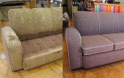 Ремонт, перетяжка мягкой мебели от колесика до механизмов.