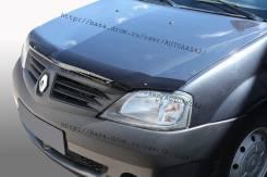 Дефлектор капота. Renault Logan