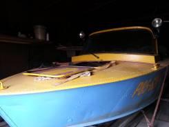 Прогресс-2. Год: 2008 год, длина 4,70м., двигатель подвесной, 40,00л.с., бензин