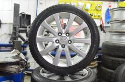 """Колеса в сборе, диски Mazda 17"""" оригинал + шины 215/50 R17 Nokian R. 7.0x17 5x114.30 ET60 ЦО 67,1мм."""