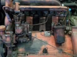 Двигатель в сборе. ЛТЗ Т-40