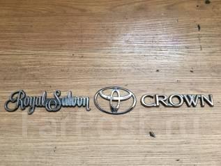 Эмблема багажника. Toyota Crown, GS171, JZS171, GS151, GS141, JZS179, JZS145, JZS155, JZS143, JZS175, JZS153, LS151, JZS141, LS141, JZS151, JZS173