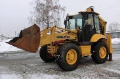 Komatsu WB97S. Продам 5 2007г. в Новосибисрке, 4 500 куб. см., 0,25куб. м.